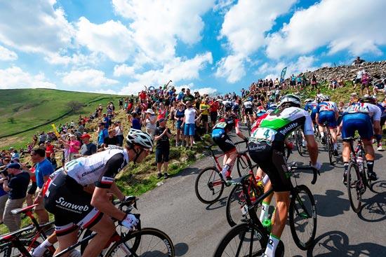 Tour de France Uphill Riders